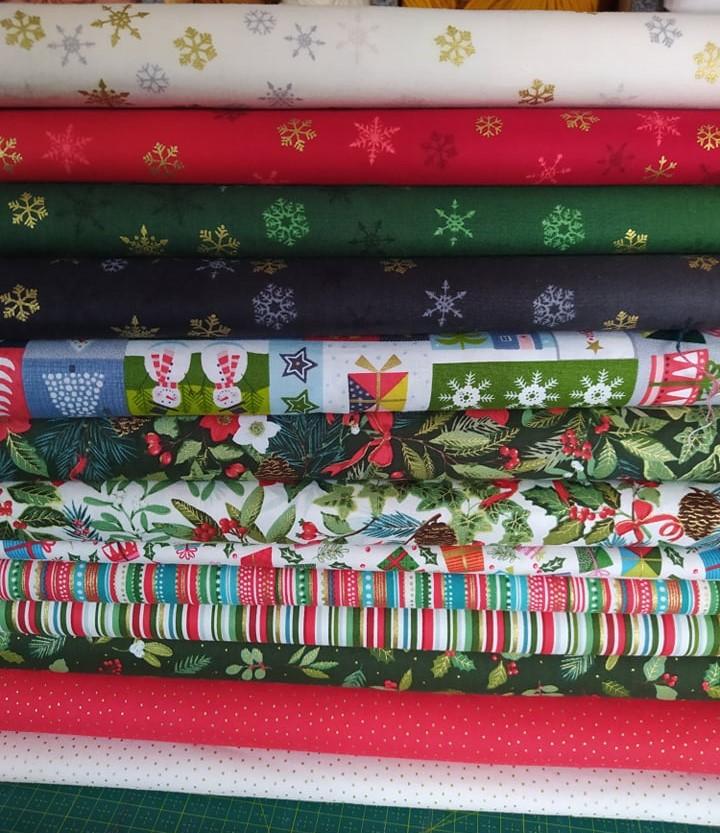 Tecidos de Natal